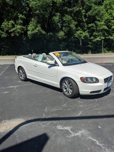 2010 VOLVO C70 CONVERTIBLE FOR SALE 4