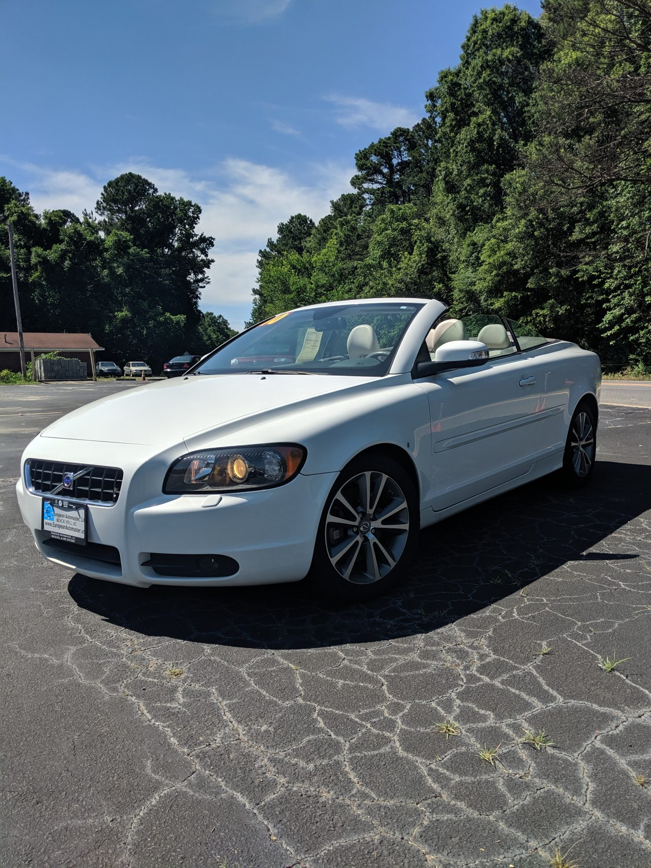 2010 VOLVO C70 CONVERTIBLE FOR SALE