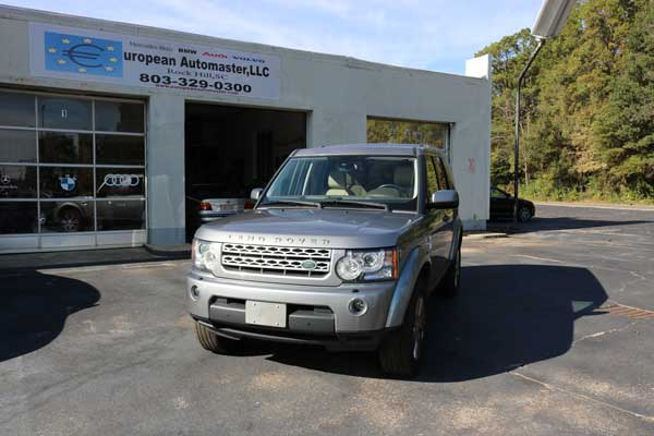 Land Rover Repair Rock Hill SC