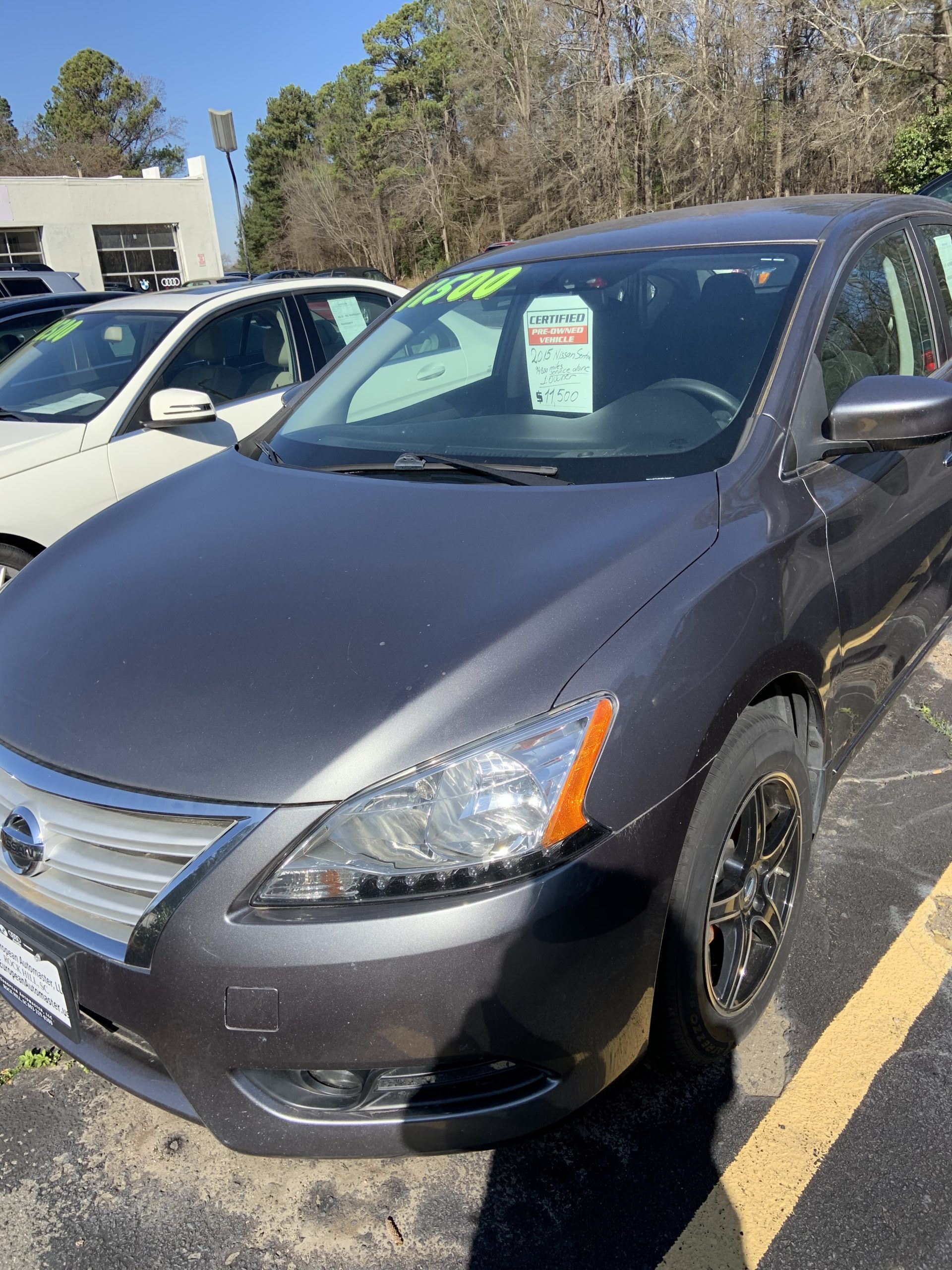 2015 NISSAN SENTRA FOR SALE IN ROCK HILL SC